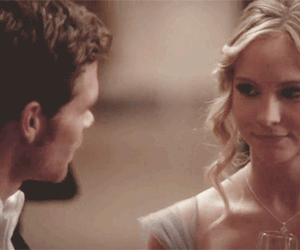 klaroline, klaus, and tvd image