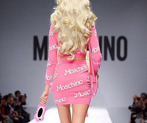 barbie, Moschino, and pink image