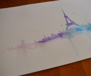 art, paint, and paris image
