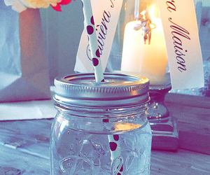 candle, fresh, and interior image