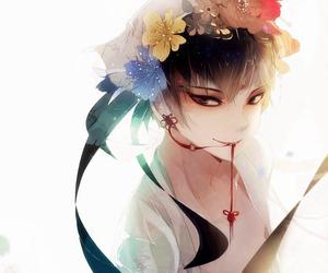 anime, art, and hakutaku image