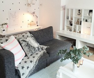 cozy, girly, and home image