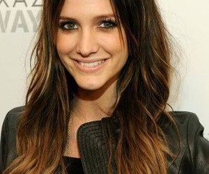 hair, ashlee simpson, and ombre hair image