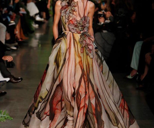 colors, elie saab, and fashion image