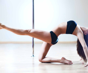 fashion, pole dance, and fitness image