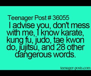 dangerous, funny, and teen image