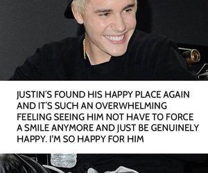 amazing, happy, and justin image