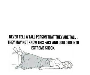 funny, girl, and tall image