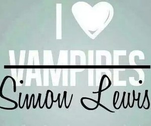 vampire, the mortal instruments, and simon lewis image