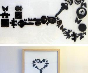diy, key, and art image