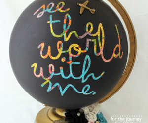 diy, globe, and travel image