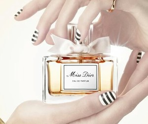 nails, beauty, and miss dior image