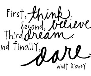 quote, Dream, and believe image