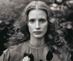 vogue and jessica chastain image