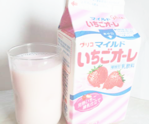 pink, milk, and pastel image