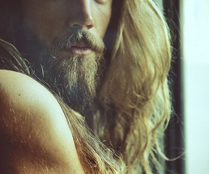 beard, hipster, and model image