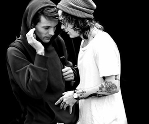 louis, harry, and larry stylinson image