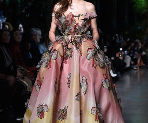 Couture, gorgeous, and gowns image