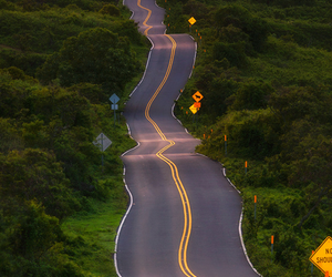 hawaii, maui, and highway image