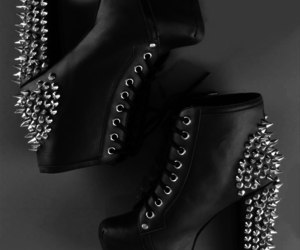 shoes, jeffrey campbell, and black image