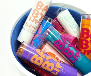 beauty, lip balm, and lips image