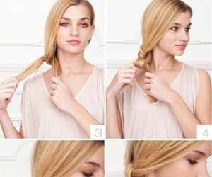 hair, style, and tuto image