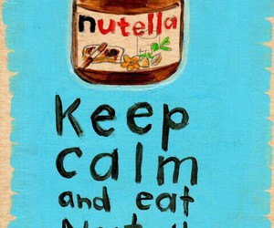 foods, nutella, and sweet image