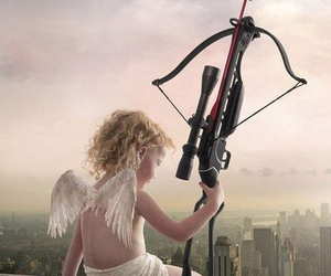 angel, cupid, and angelic image