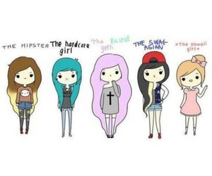 drawing, cute, and girls image