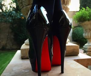 heels, louboutin, and luxury image