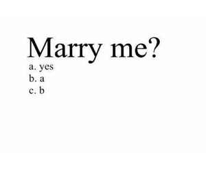 love, yes, and marry image