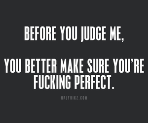 quotes, perfect, and judge image