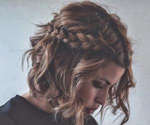 braid and short hair image