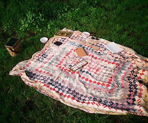 outdoors, paint, and picnic image