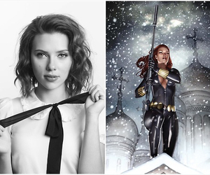 black widow, the avengers, and natasha romanoff image
