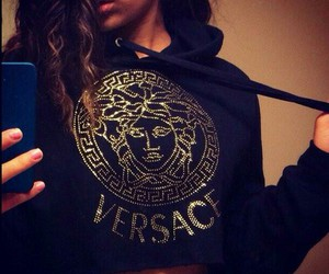 Versace, fashion, and style image