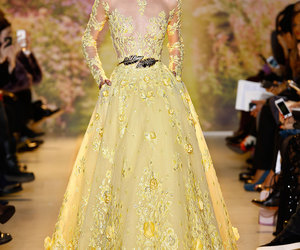 Couture, fashion, and long dresses image
