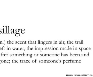 sillage, quotes, and perfume image