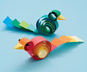 birds, crafts, and Paper image