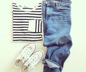 converse, outfit, and style image