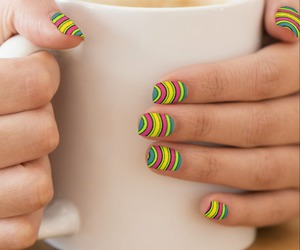abstract, fashion, and nail art image