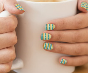 abstract, manicure, and nails image
