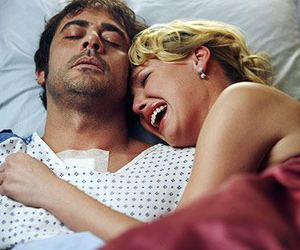 grey's anatomy, denny, and izzie image
