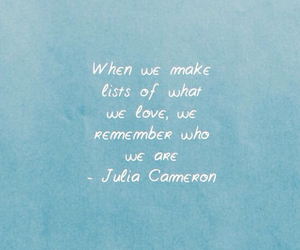 quote, blue, and words image