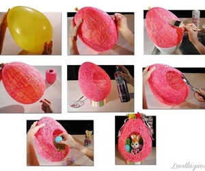 diy, easter, and pink image