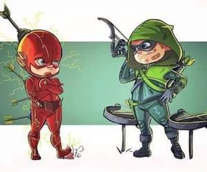 arrow, flash, and the flash image