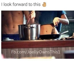 cooking, couple, and goals image