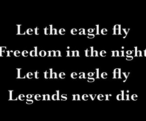 fly, freedom, and black veil brides image