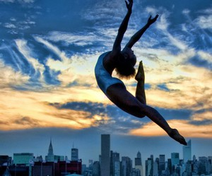 dance, sky, and ballet image
