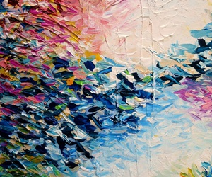 Abstract Painting, artwork, and brushstrokes image